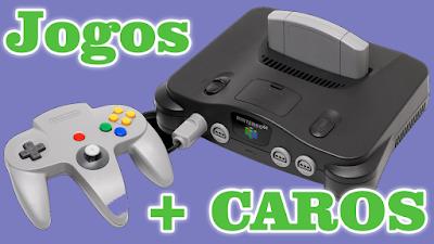 Top 10 jogos mais caros do Nintendo 64