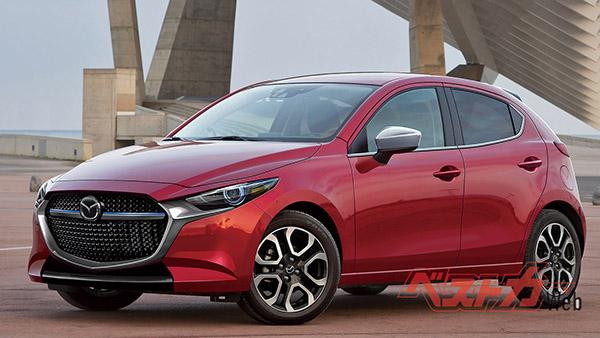 Burlappcar 2020 Mazda 2