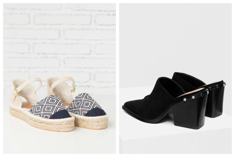 Mules y espadrilles - zapatos destalonados y alpargatas