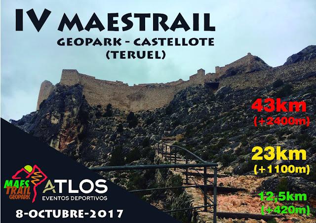 geopark maestrail trail geoparque maestrazgo castellote teruel 2017