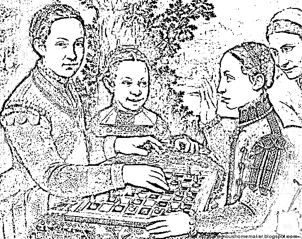 okeefe coloring pages - photo #43