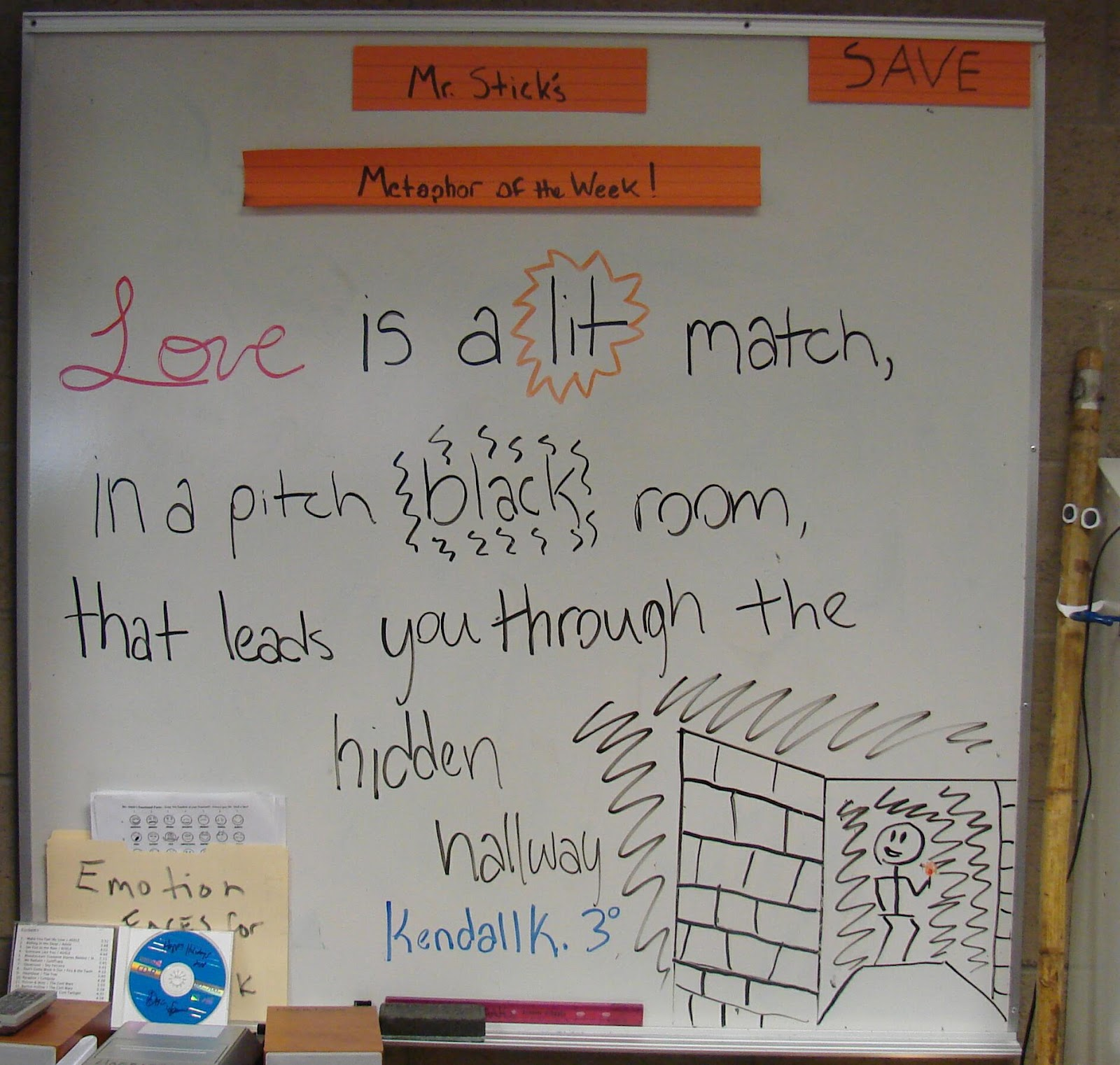 Teach Writing Right Metaphor Of The Week Valentine S Day
