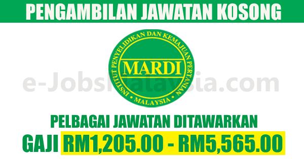 Institut Penyelidikan dan Kemajuan Pertanian Malaysia MARDI