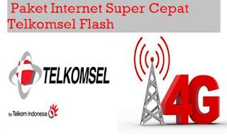 Cara Registrasi Paket Internet Telkomsel Flash Super Cepat dan Stabil