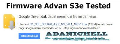 Firmware Advan S3e Google Drive