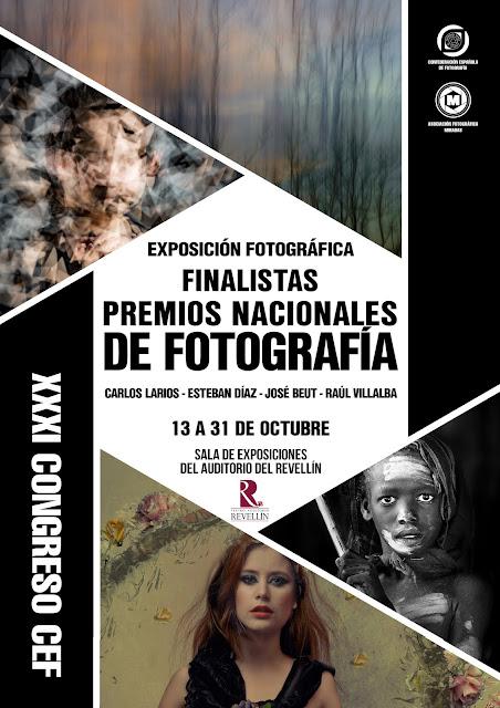 Finalistas a mejor fotógrafo de los Premios Nacionales de Fotografía de la CEF