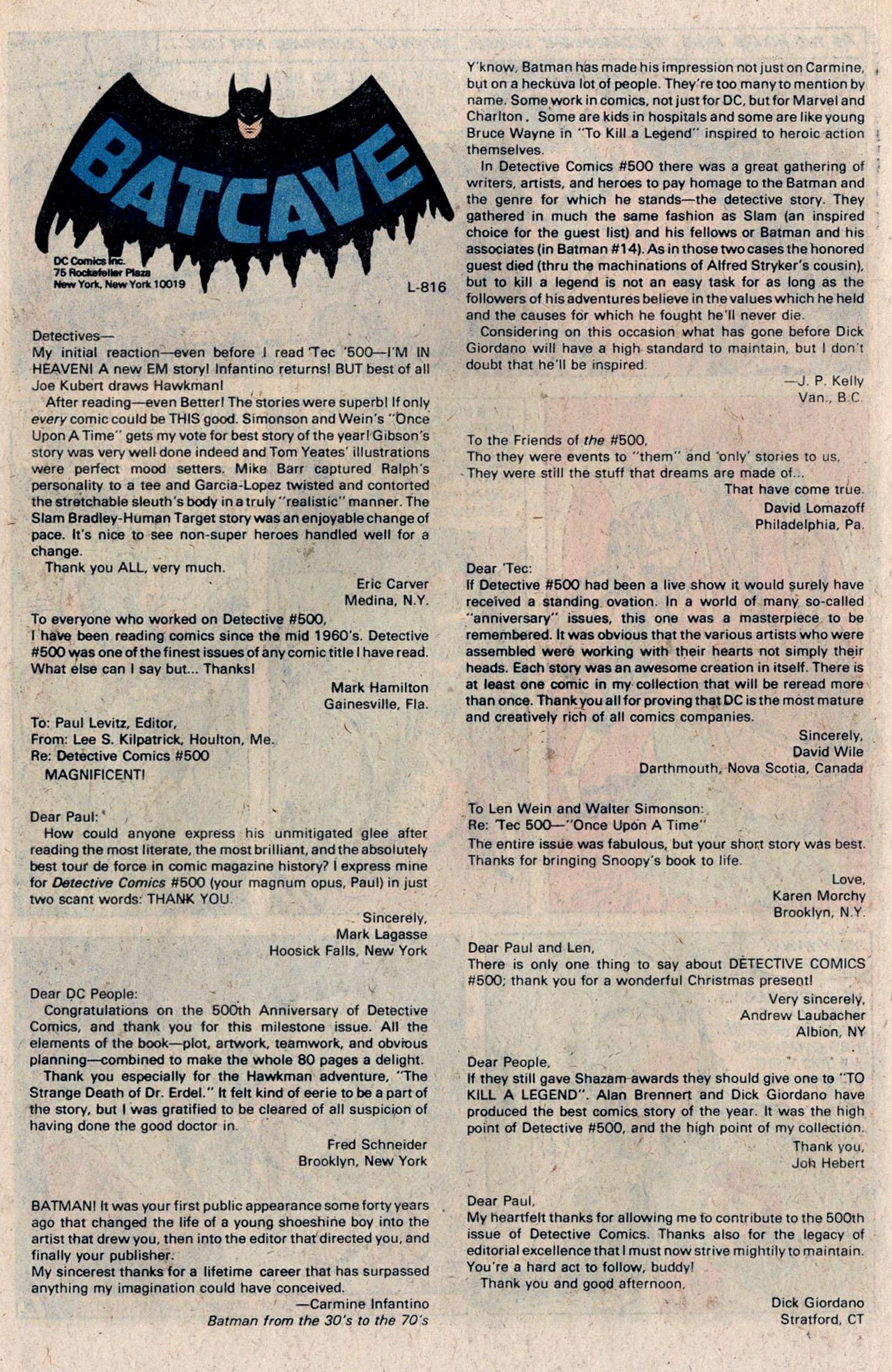 Detective Comics (1937) 505 Page 33