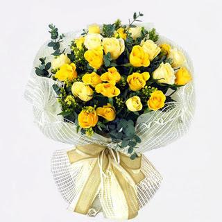 hoa hoa mau vang tang sinh nhat