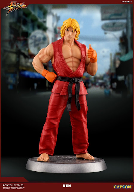 "Abierto pre-order de ""Street Fighter Ken Masters"" - Pop Culture Shock Collectibles"