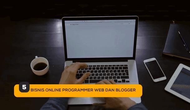 5. Bisnis Online Programmer Web dan Blogger