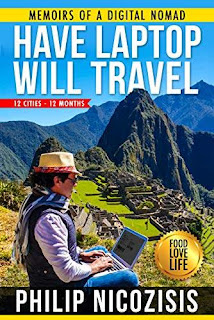 Have Laptop, Will Travel: Memoirs of a Digital Nomad free book promotion Philip Nicozisis