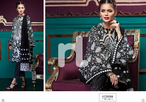 Nishat Linen Luxury Formal Collection 2017