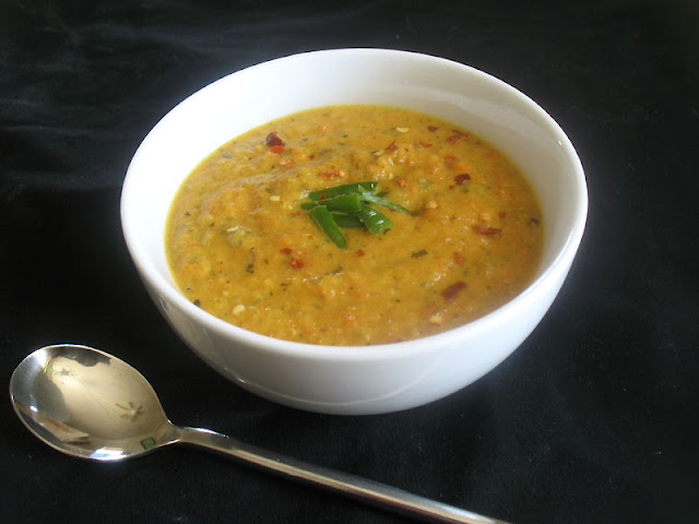 Thai-Style Coconut and Roasted Carrot Soup