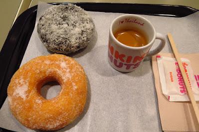 Bangkok, Dunkin' Donuts, donuts espresso