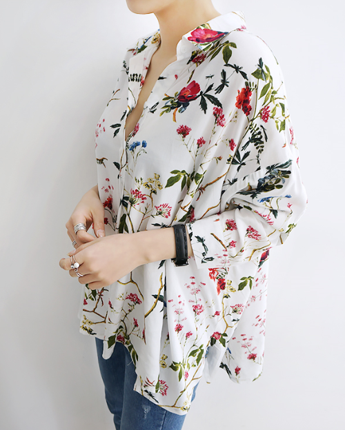 Angtoo Floral Blouse