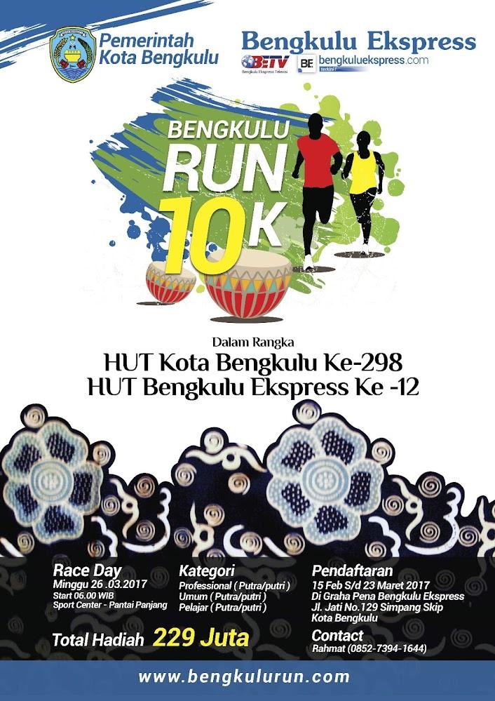 Bengkulu Run 10K • 2017