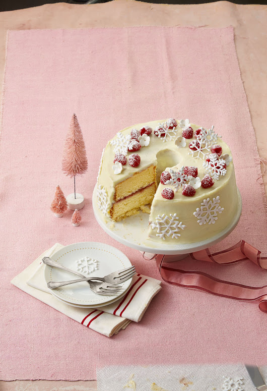 Double White Chocolate Cake