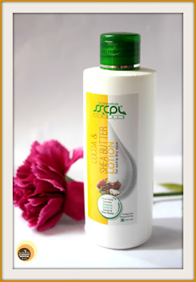 SSCPL herbals cocoa & shea butter body lotion review on Natural beauty And Makeup blog