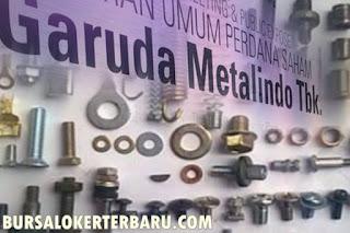 Lowongan Kerja Terbaru Operator Produksi di PT Garuda Metalindo Tbk