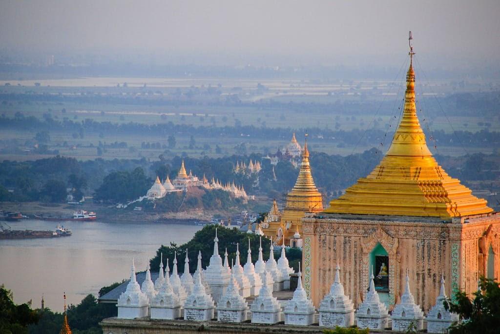 Colina Sagaing, Myanmar