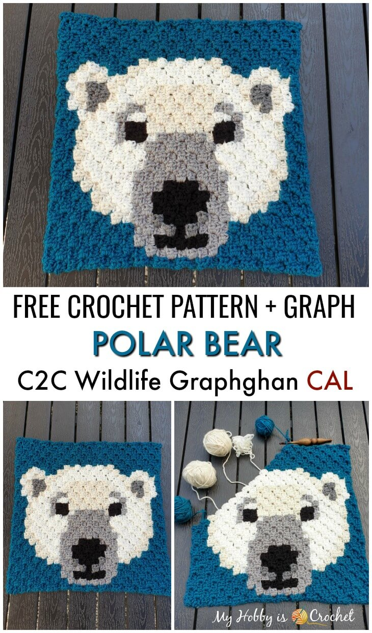 Polar Bear C2C Square