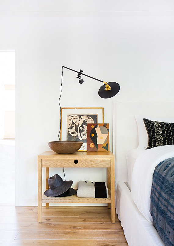 Eclectic home with bohemian touches in LA | Design by Amber Lewis. Photo by Tessa Neustadt
