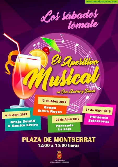 El Aperitivo Musical de Abril en San Andrés y Sauces