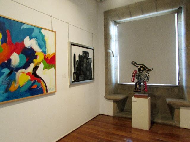 Algumas obras do Museu Amadeo Sousa Cardoso