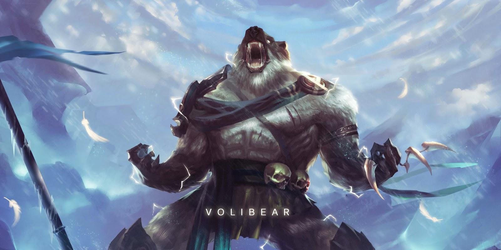 Lol Wallpapers: Volibear League Of Legends Wallpaper, Volibear Desktop