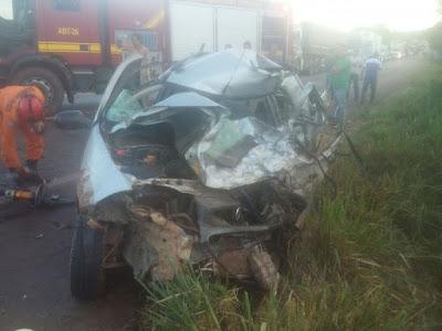 Acidente entre veículos deixa um motorista morto na BR-010, no Maranhão