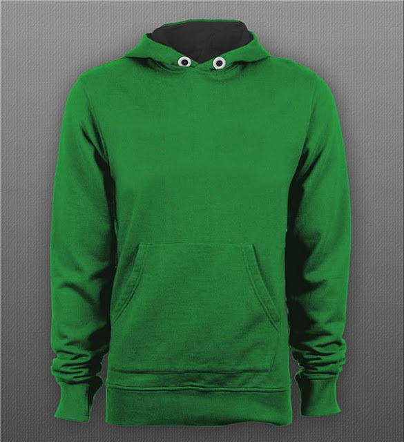 Free Pullover Hoodie T-shirt Mockup PSD