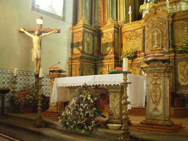 Interior da Igreja dos Passos em Guimarães