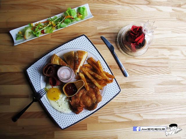 IMG 0683 - 【台中美食】1770 cafe ,置身在彩虹屋底下的美食饗宴,餐點讓你隨意搭配,想吃甚麼就搭甚麼