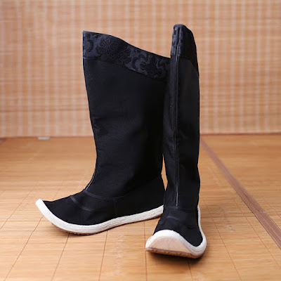 Ming Chinese Riding Boots