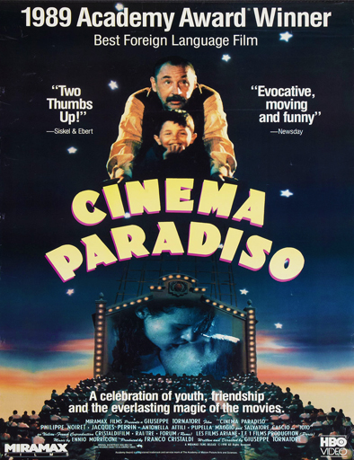 Ver Cinema Paraíso (Nuovo Cinema Paradiso) (1988) Online
