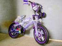 Sepeda Anak Forland T99 Dop Bintang + Ekstra Sadel 12 Inci