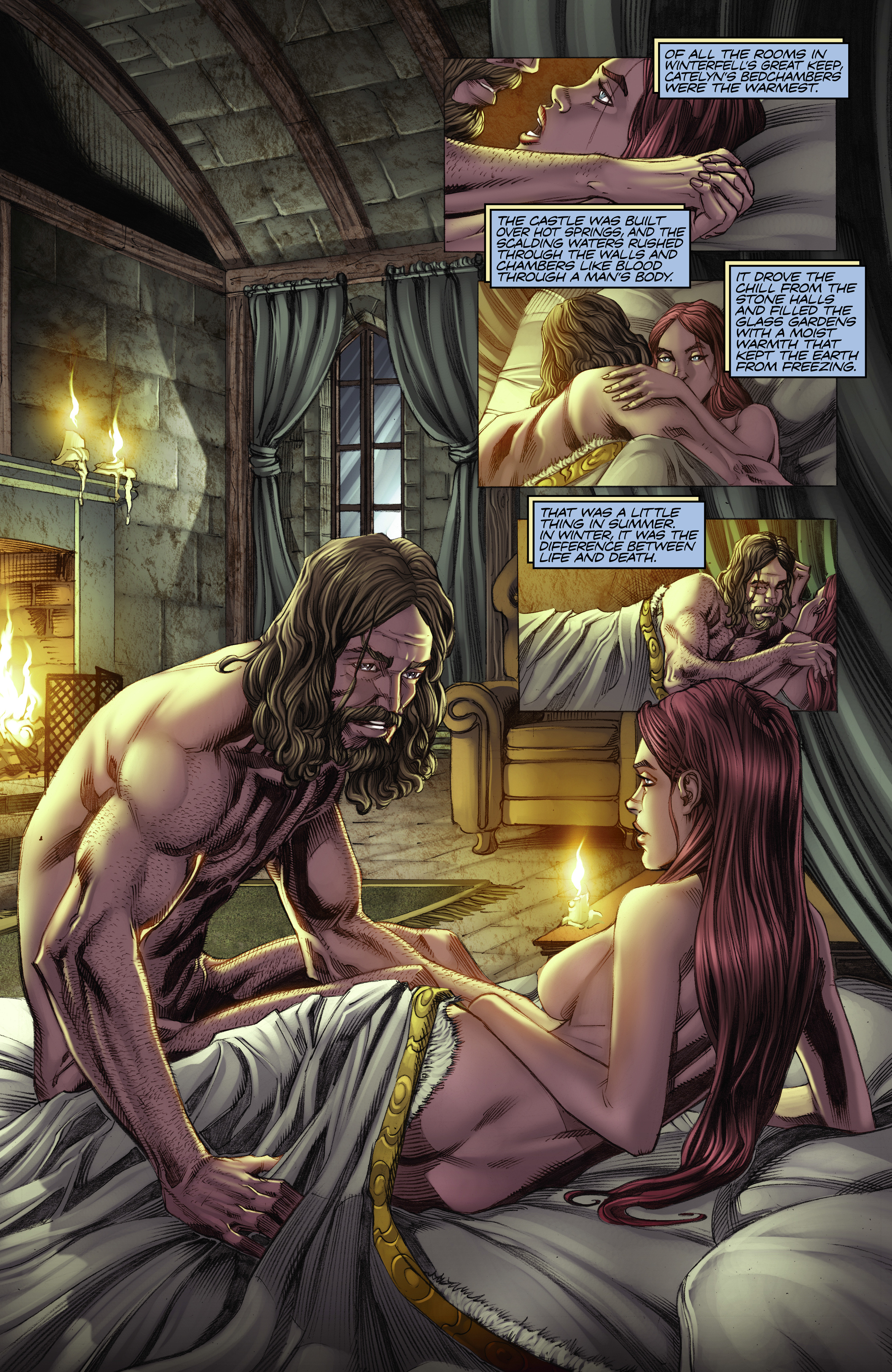 Read online A Game Of Thrones comic -  Issue #2 - 22