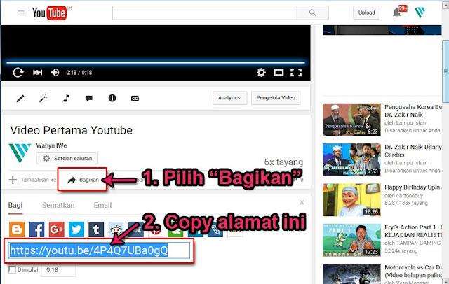 Cara Termudah Menyisipkan Video Youtube Ke Blog