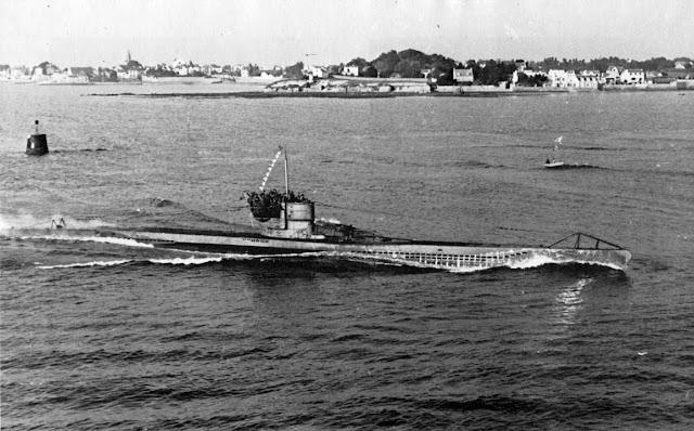 25 September 1940 worldwartwo.filminspector.com U-48 Lorient