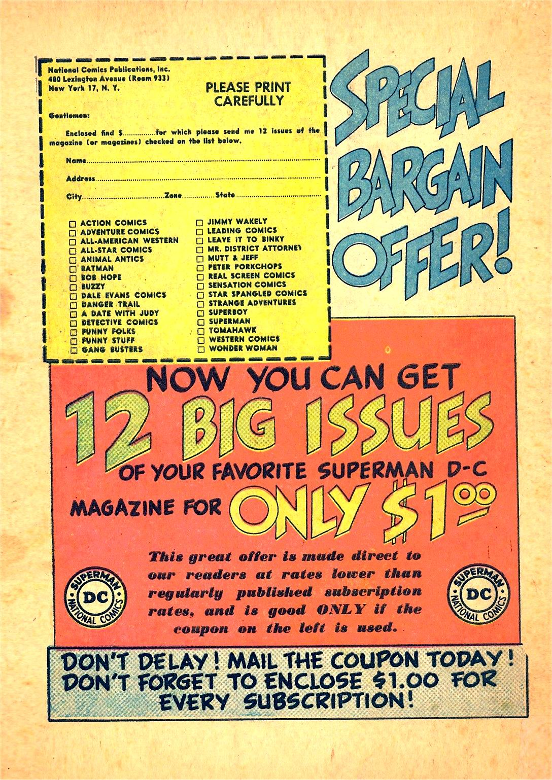 Read online Detective Comics (1937) comic -  Issue #166 - 50