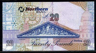 20 Pounds sterling Northern Bank
