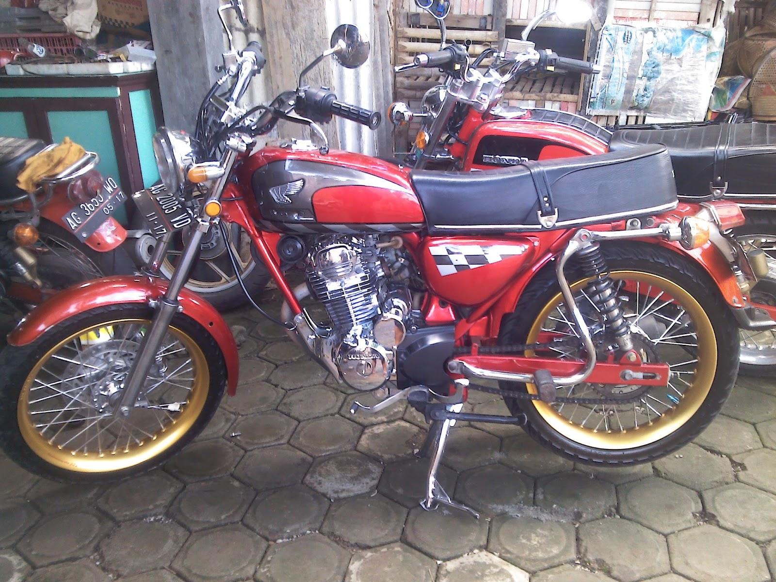 Koleksi Modifikasi Motor Lampung Terlengkap Pojok Otomania