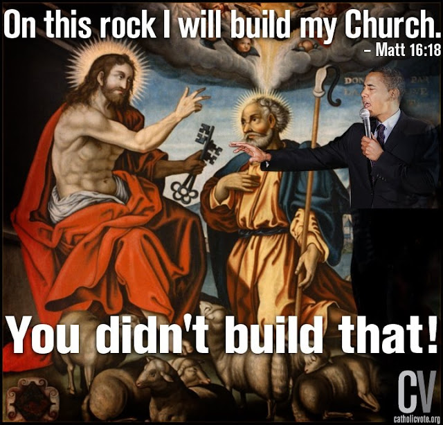 You didn't build that!