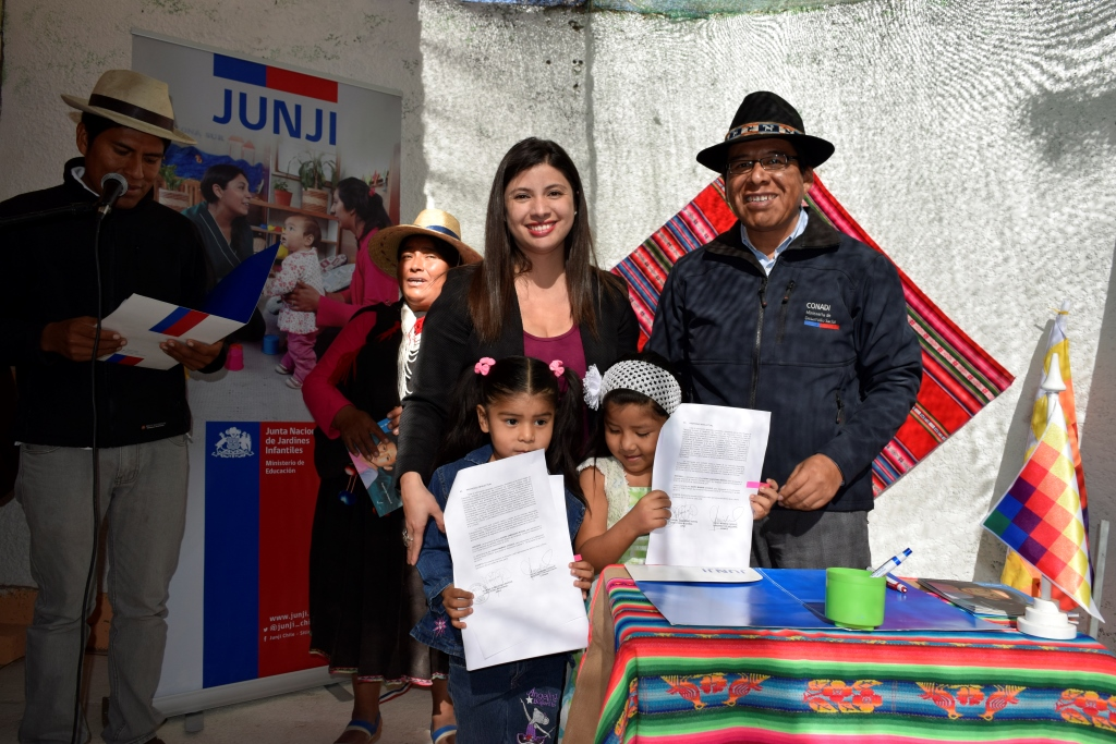As surgen conadi y junji firman convenio que for Postulacion jardin junji 2016