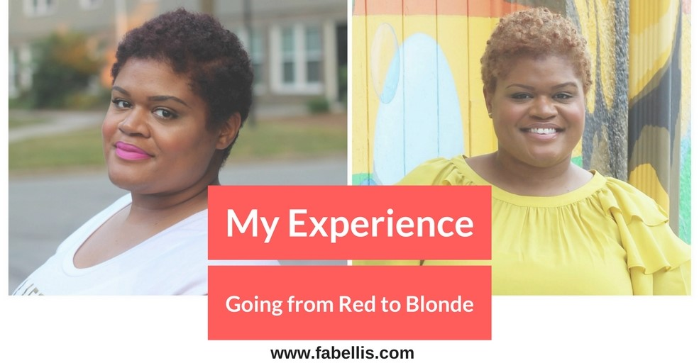 Natural hair my experience going from red to blonde hair fabellis would you go blonde urmus Gallery