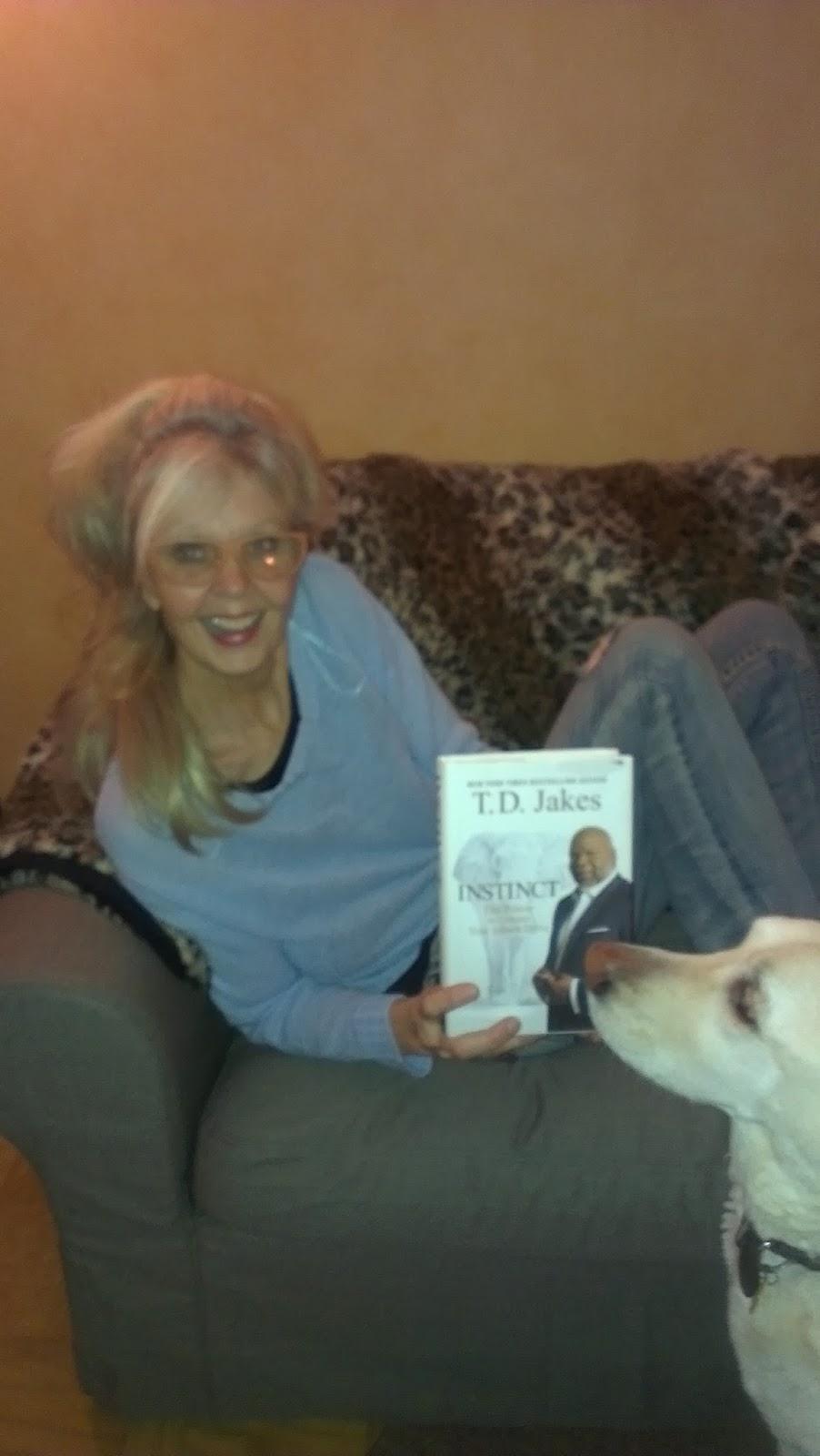 Karin Glannstam's Blog: Great Book       Instinct  by T D  Jakes