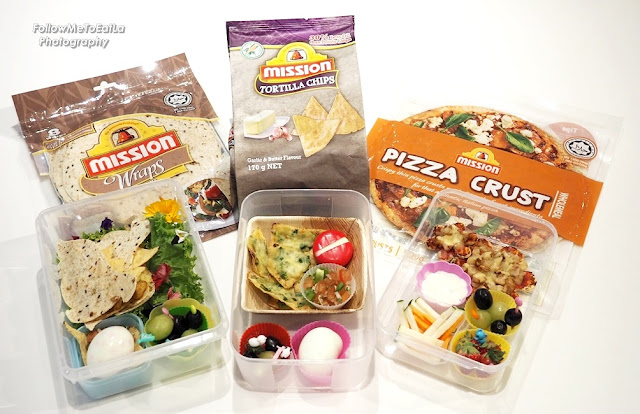 Healthy & Delicious Bentos For Kids With Mission Food