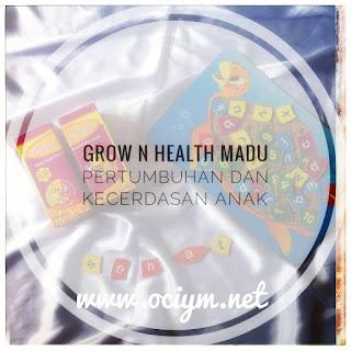 Grow n Health Madu Pertumbuhan dan Kecerdasan Anak