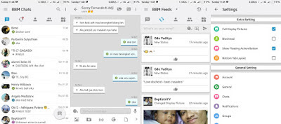 BBM MOD Like IOS v3.1.0.13 Terbaru for Android