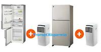 Logo Frigo + Climatizzatore portatile Olimpia Splendid in omaggio: scopri la promozione!
